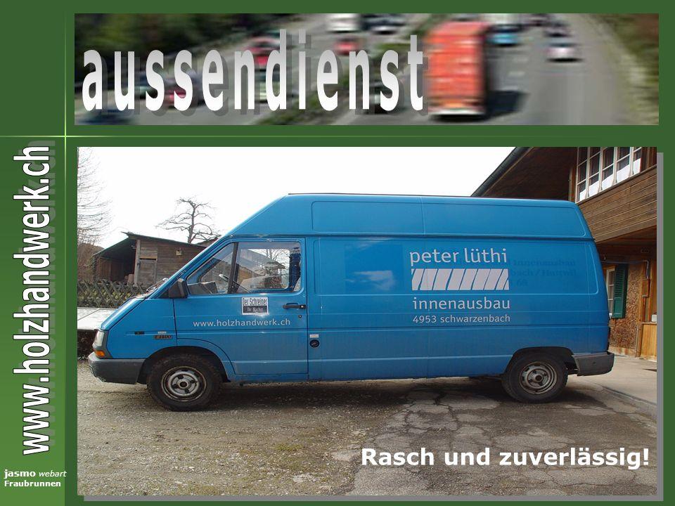 jasmo webart Fraubrunnen Rasch und zuverlässig!