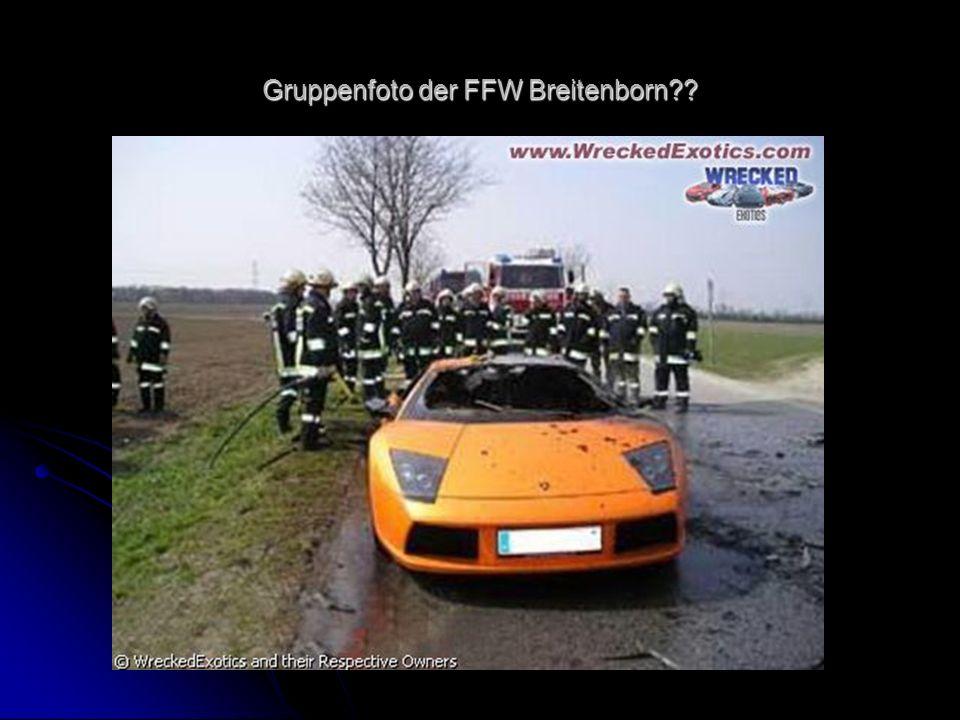 Gruppenfoto der FFW Breitenborn