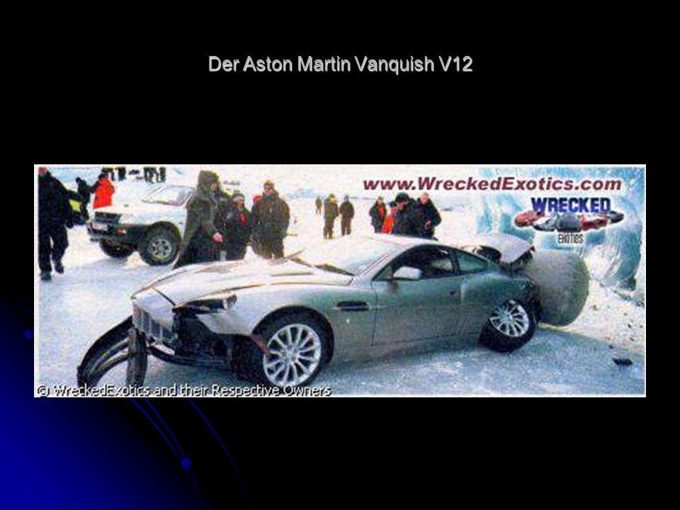 Der Aston Martin Vanquish V12