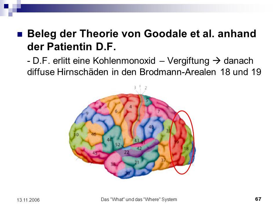 Das What und das Where System68 13.11.2006