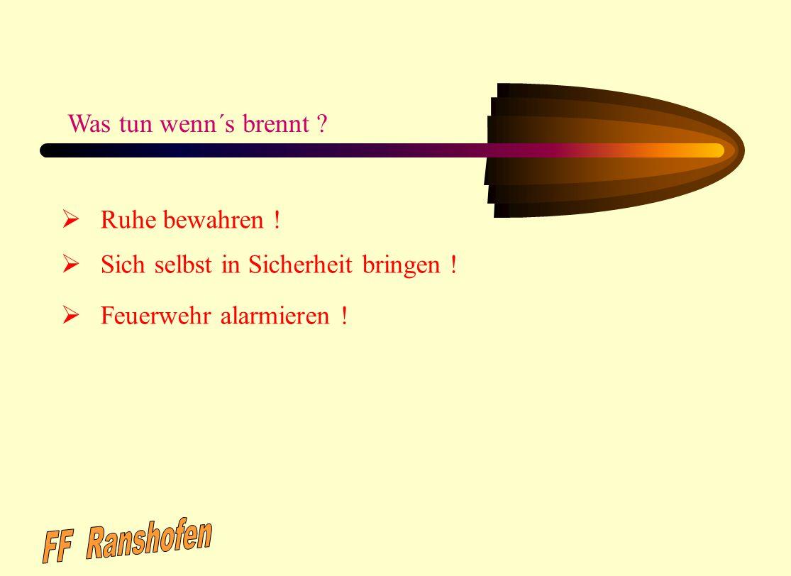 Erstellt von: OBM Uwe Schmeiser FF.Gernsbach Abt.Staufenberg April 2002 Überarbeitet von: R. Zimmermann; Leiter der Feuerwehr Gernsbach; Januar 2006 F