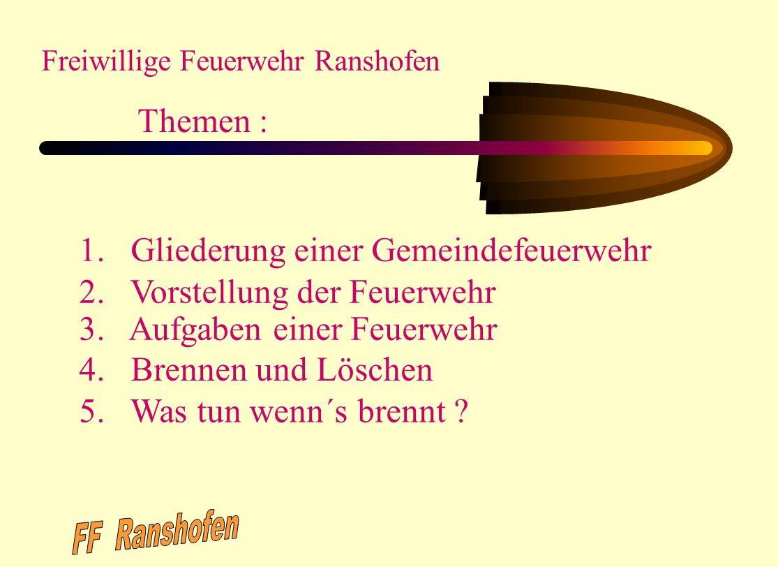 Erstellt von: OBM Uwe Schmeiser FF.Gernsbach Abt.Staufenberg April 2002 Überarbeitet von: R. Zimmermann; Leiter der Feuerwehr Gernsbach; Januar 2006