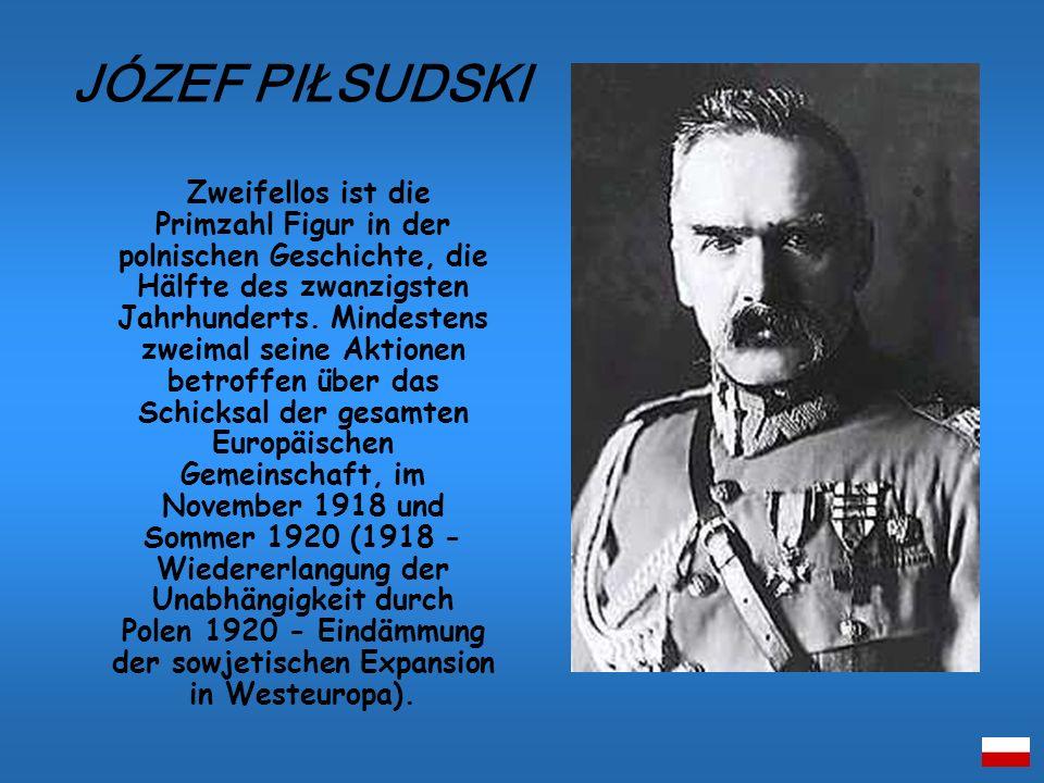 Zweifellos ist die Primzahl Figur in der polnischen Geschichte, die Hälfte des zwanzigsten Jahrhunderts. Mindestens zweimal seine Aktionen betroffen ü
