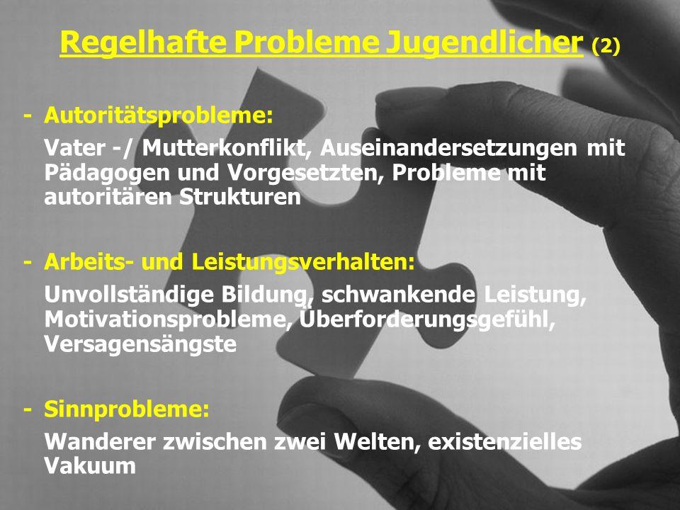 Entwicklungsstörungen (1) Familiäre Disharmonie, Erziehungsdefizite Multiproblemmilieu, untere soziale Schicht genetische Faktoren, neurolog.