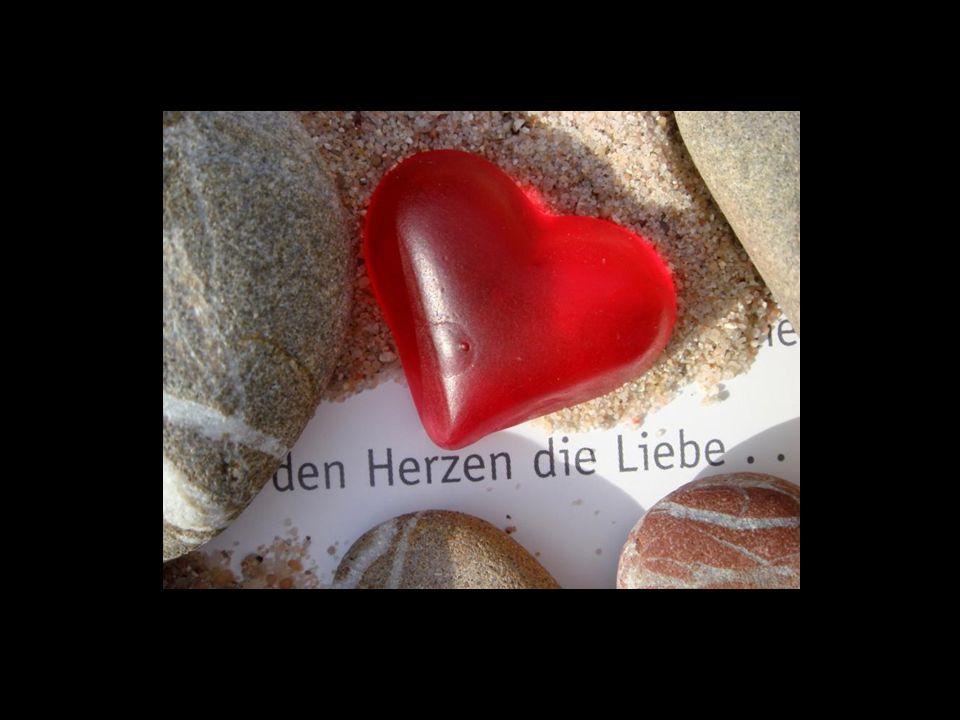 Doppeltes Liebesglück: Ich liebe dich, und ich liebe es, von dir geliebt zu werden. © Ernst Ferstl