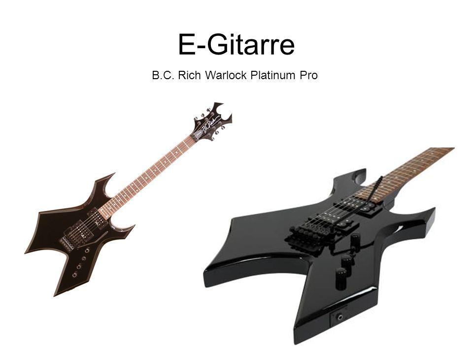 E-Gitarre B.C. Rich Warlock Platinum Pro
