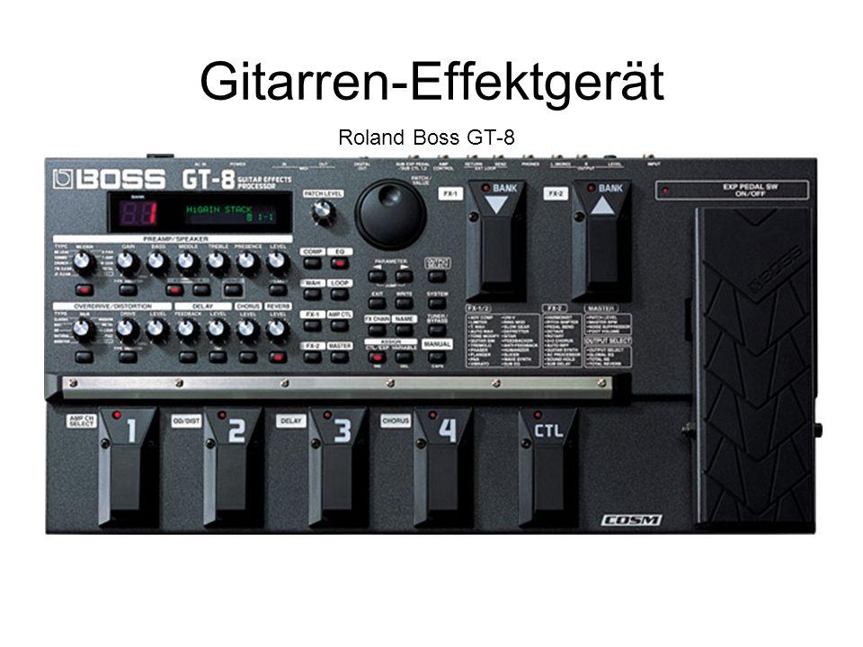 Gitarren-Effektgerät Roland Boss GT-8