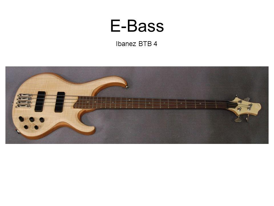 E-Bass Ibanez BTB 4
