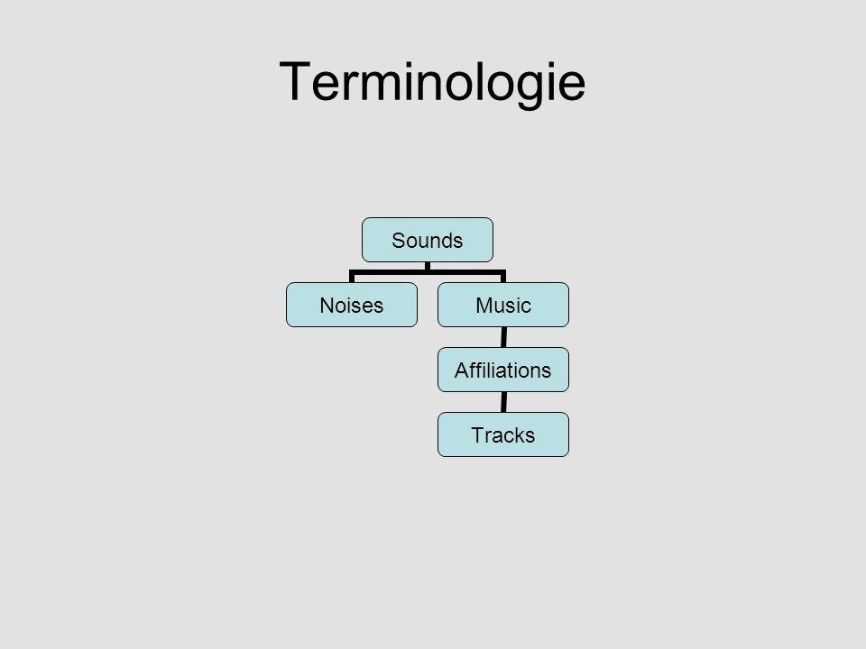 Noises Channelpool Exklusives Master-Volume Exklusives Volume Werden vorgeladen Stereofon Multiple Formate (wav, mp3, ogg, …) Generierung von Klangabwechslung