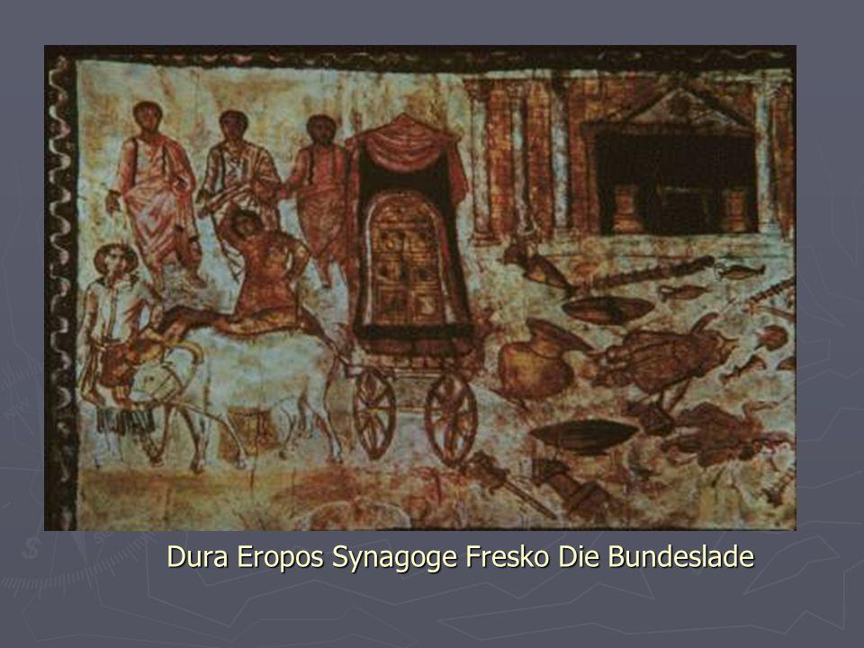 Dura Eropos Synagoge Fresko Die Bundeslade