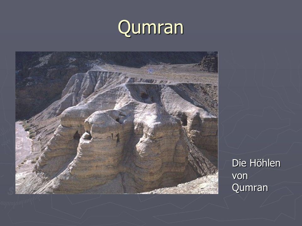 Qumran Die Höhlen von Qumran