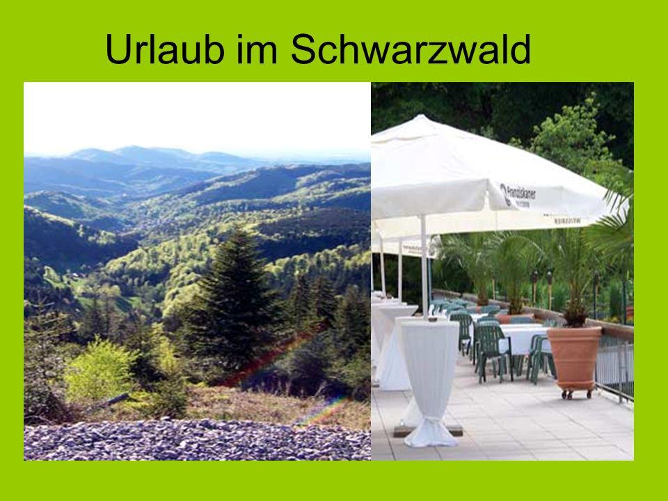 Der Schwarzwald im Süden Deutschlands ist weltweit bekannt.