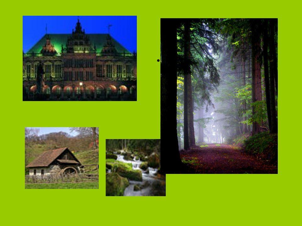 Deutschland ist ein Land der Sehenswürdigkeiten und Regionen.