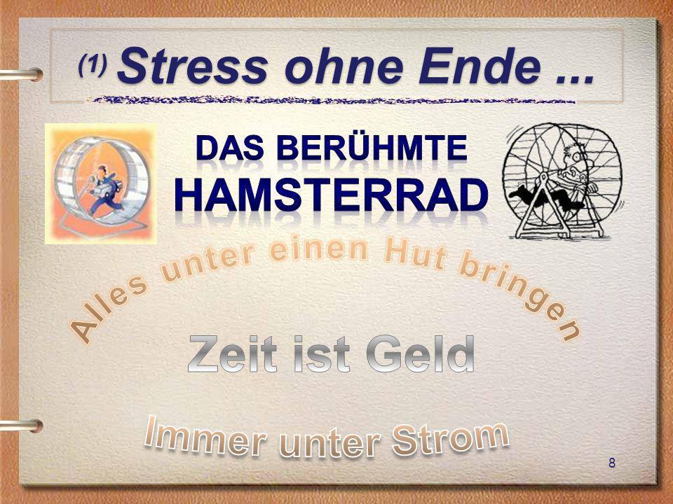 (1) Stress ohne Ende... 8