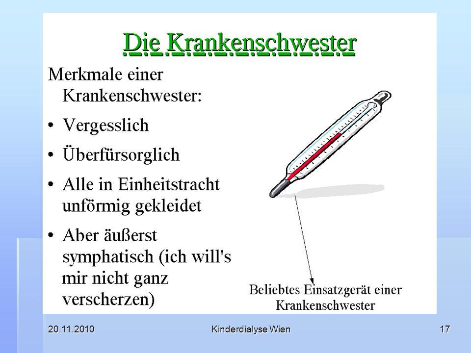 20.11.2010Kinderdialyse Wien17