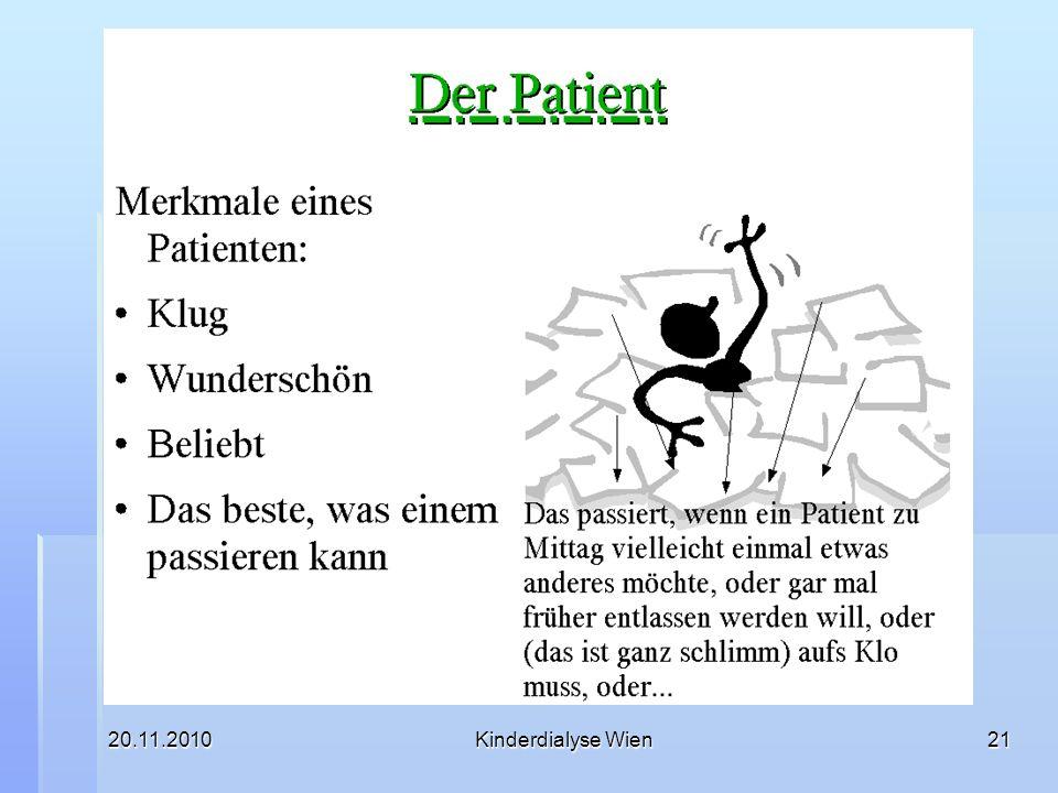 20.11.2010Kinderdialyse Wien21