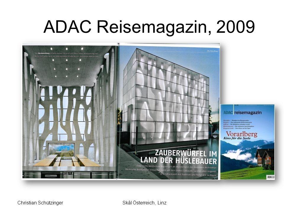 ADAC Reisemagazin, Beilage 2007 Vorarlberg = Österreich neu entdecken Skål Österreich, LinzChristian Schützinger