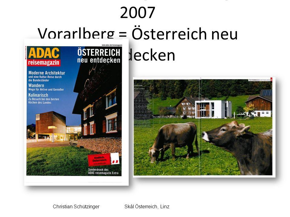 Horizon Field Imagewandel und neue Gäste für Vorarlberg Kulturtourismus zwischen Tradition und Moderne 1.