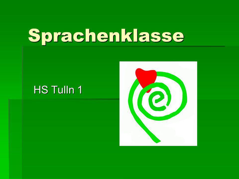 Sprachenklasse HS Tulln 1