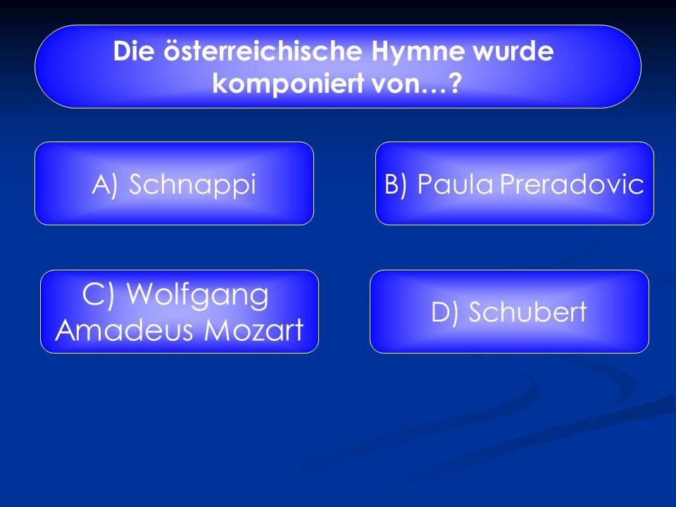 Vervollständige den Text der österreichischen Bundeshymne! Land der Berge, Land am ……? A) Sonne B) Strome C) GnomeD) Tonne