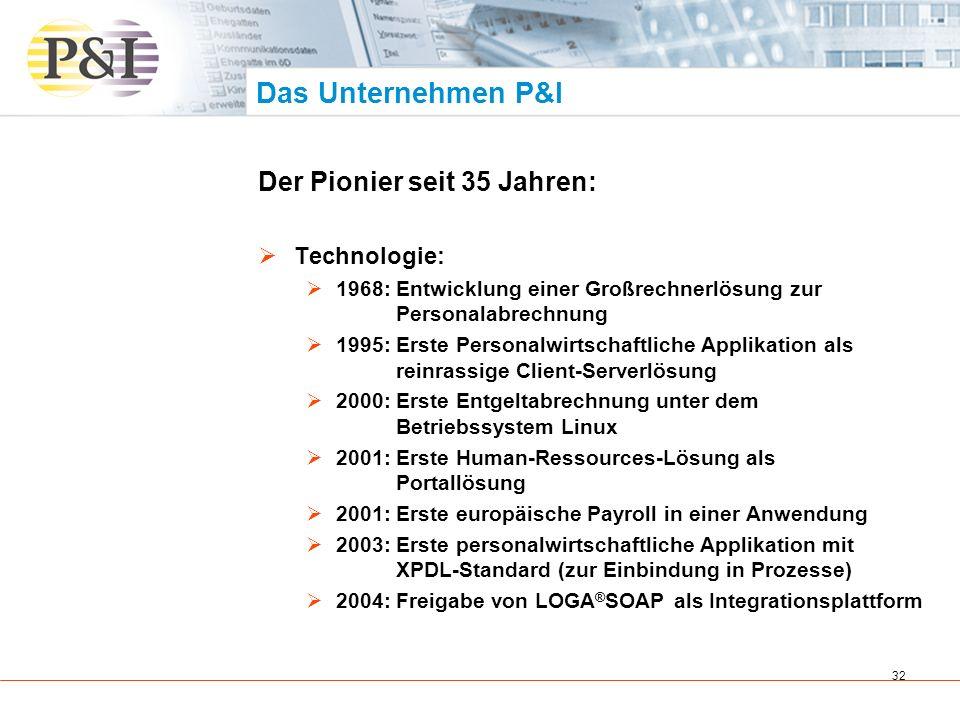 33 Das Unternehmen P&I Zahlen und Fakten: Konzernumsatz 2003/2004: 40,1 Millionen Euro Mehr als 4 Millionen Abrechnungen pro Monat 12 Standorte in 6 europäischen Ländern Über 3.700 zufriedene Kunden