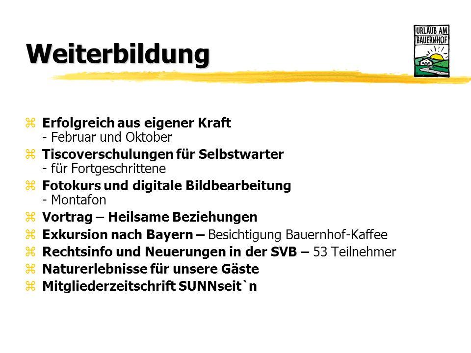 Tätigkeitsbericht Jänner bis Oktober 2004