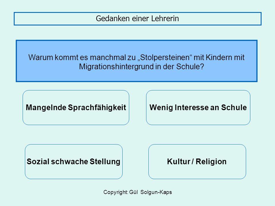 Copyright: Gül Solgun-Kaps Informationsdefizite Bay.