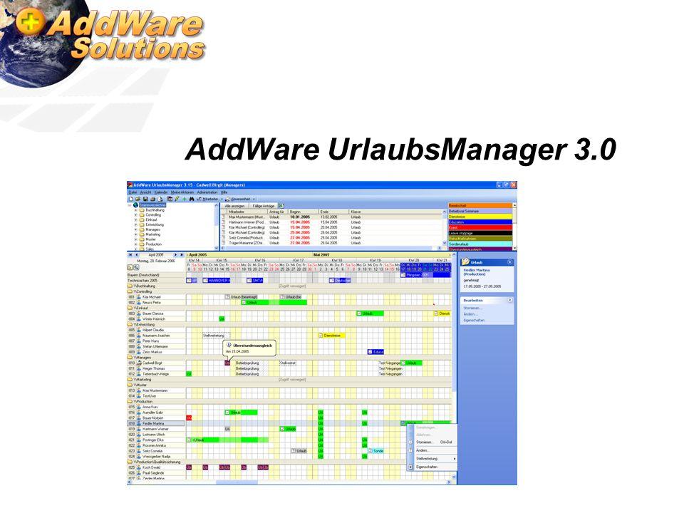 AddWare UrlaubsManager 3.0