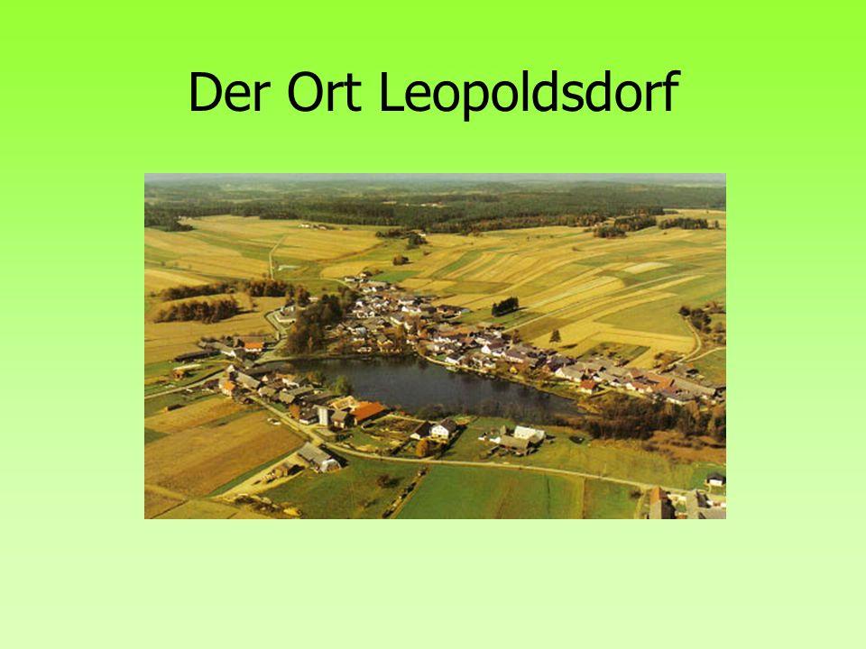 Der Ort Leopoldsdorf