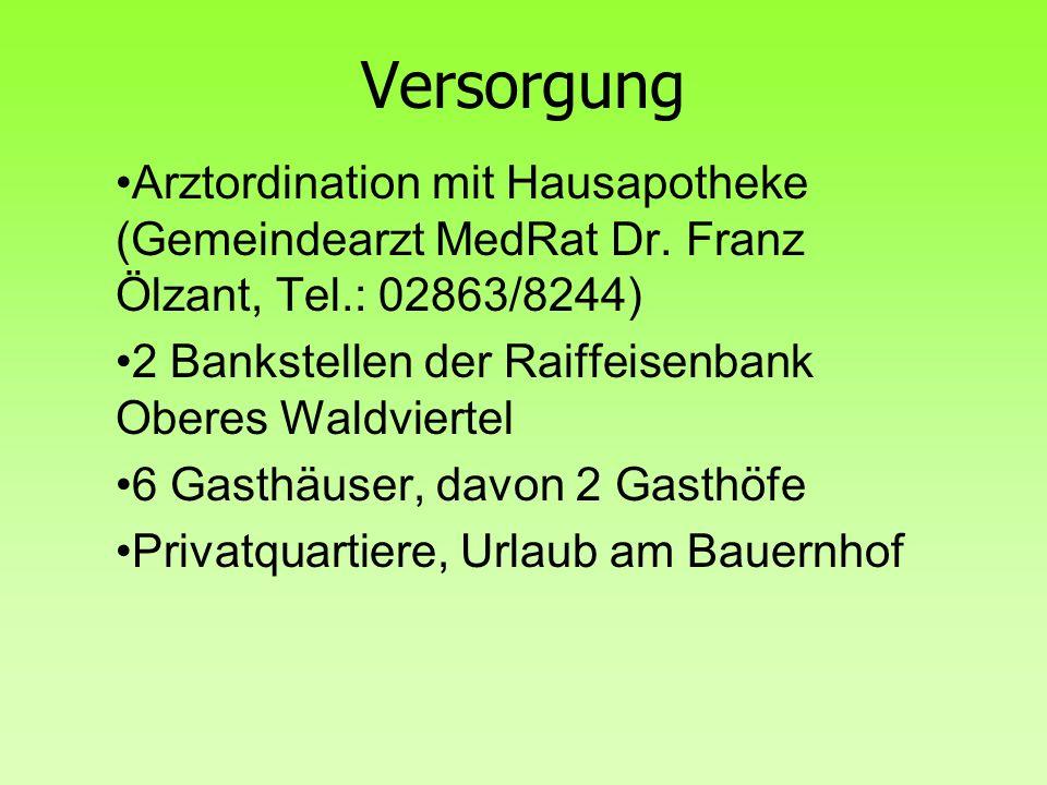 Versorgung Volksschule im Schulverband mit Haugschlag Hauptschule: Litschau AHS/BHS in Gmünd+Waidhofen/Th.