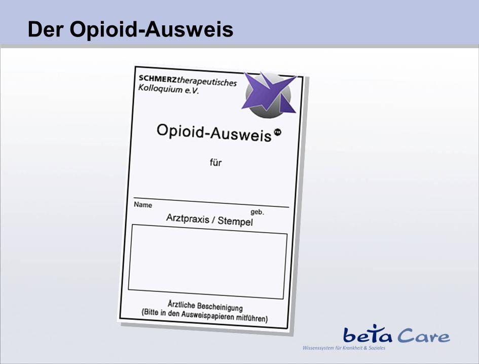 Der Opioid-Ausweis