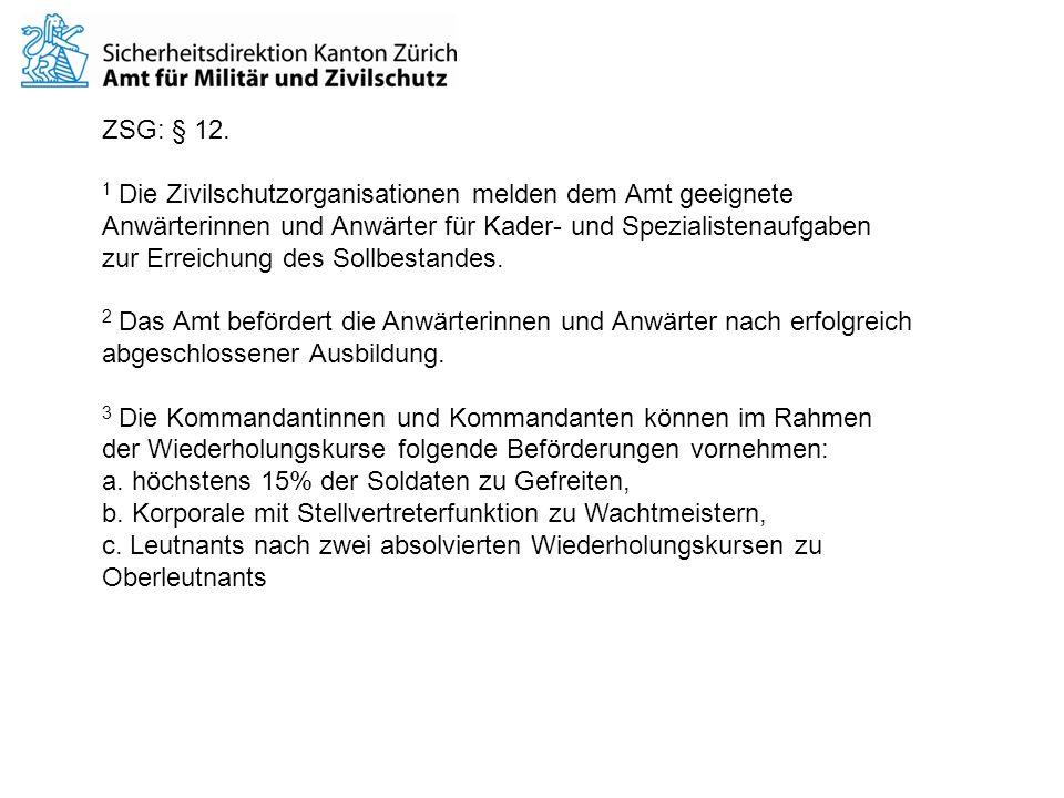 ZSG: § 12.