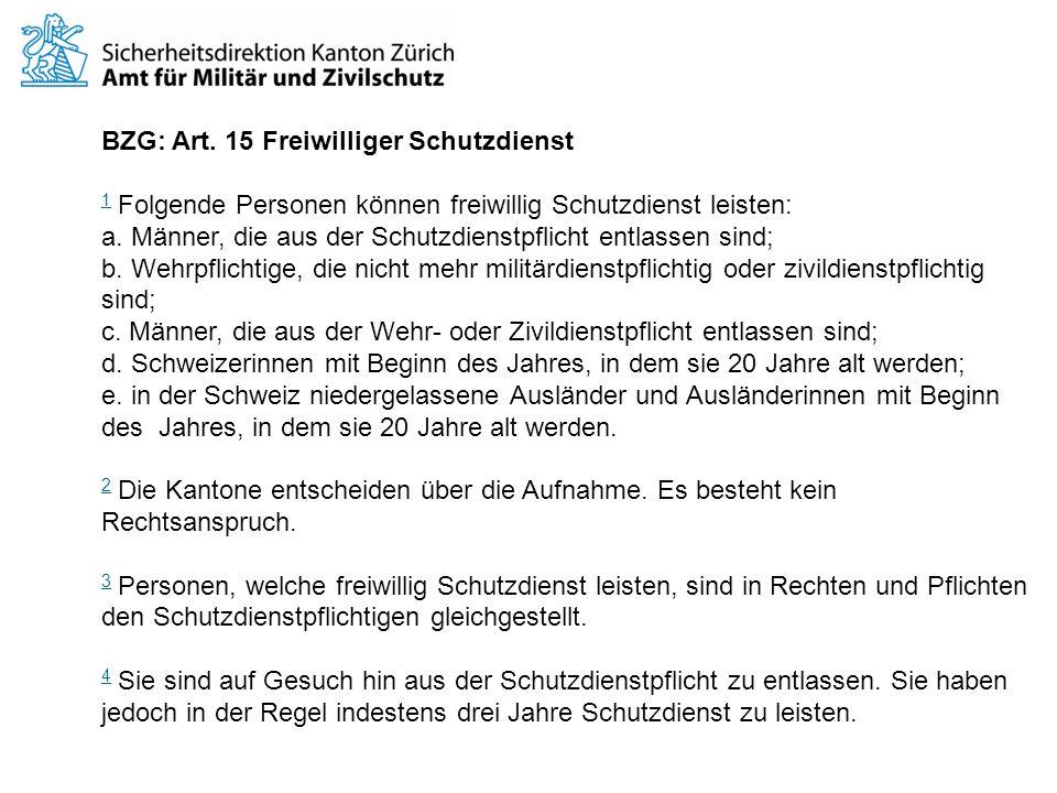 Weisungen des Bundesamtes für Bevölkerungsschutz über die Absolvierung und Durchführung der Zivilschutzkurse (WZSK) vom 12.