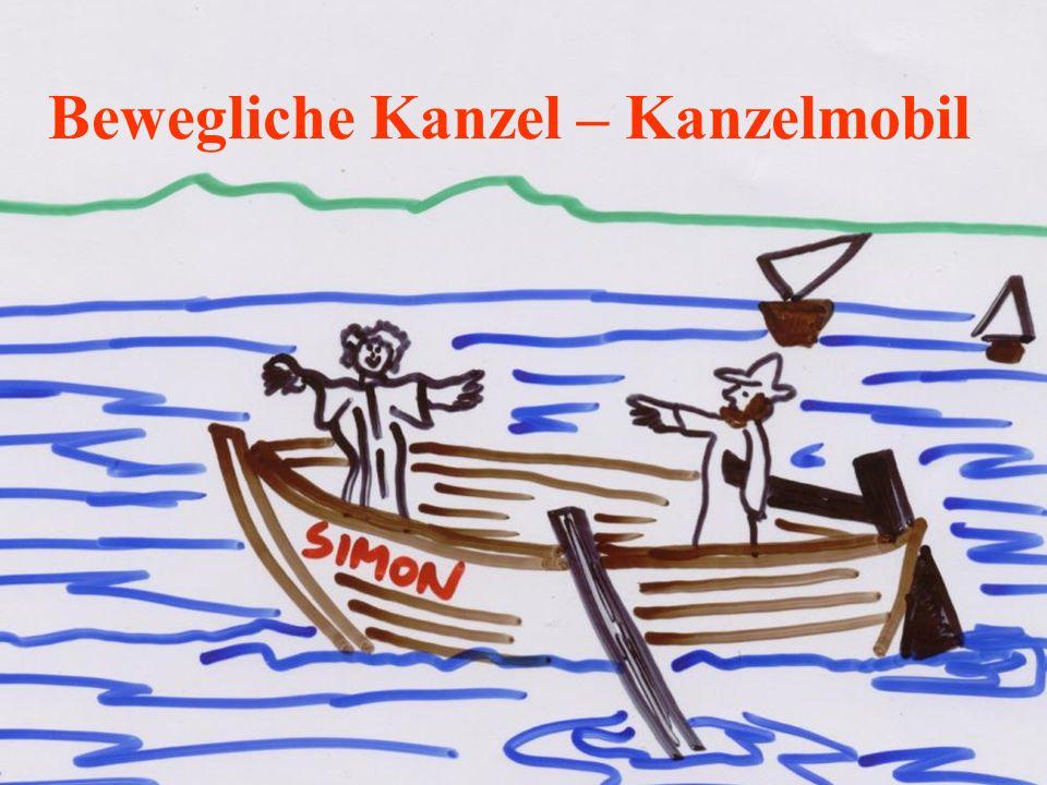 Bewegliche Kanzel – Kanzelmobil