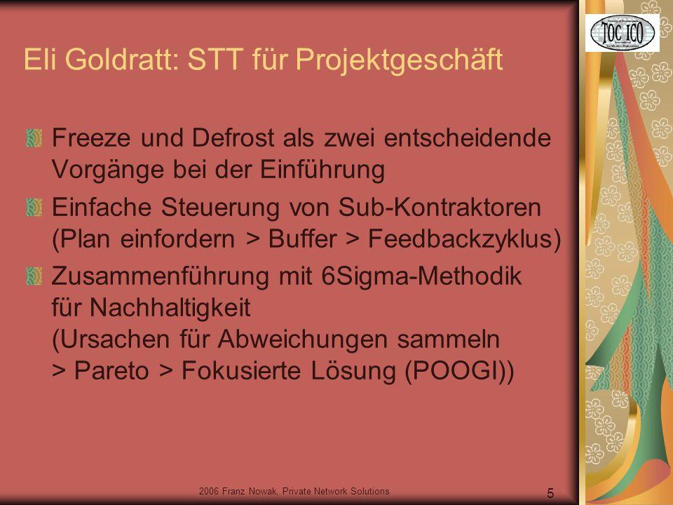 2006 Franz Nowak, Private Network Solutions 26 Da läuft etwas ganz anders … 02:34