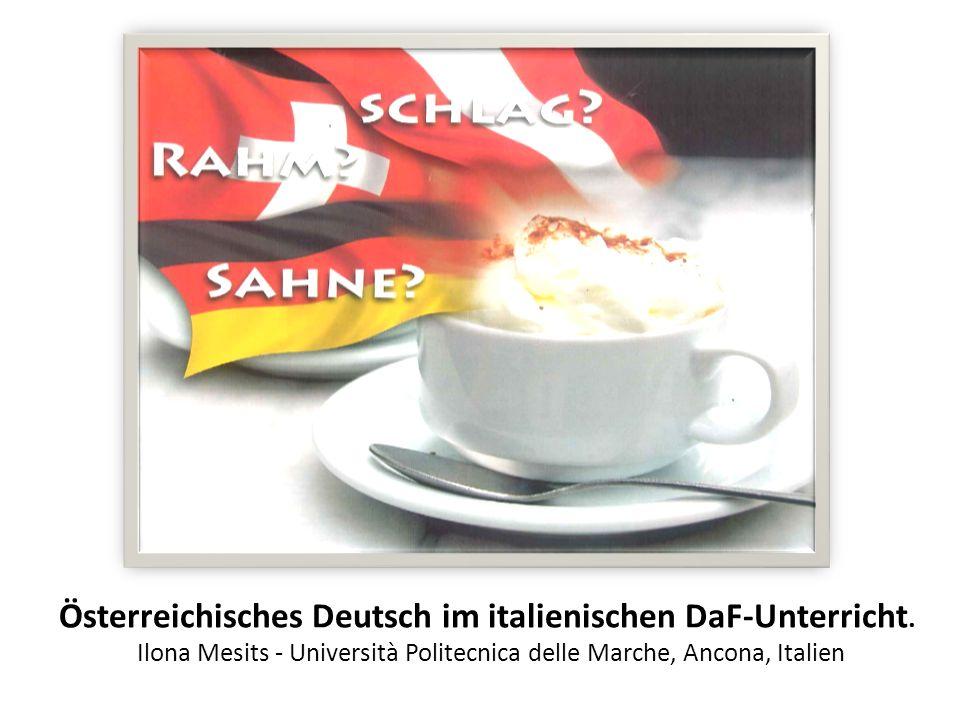 Schlag, Rahm oder Sahne.Deutsch ist eine plurizentrische Sprache, d.h.