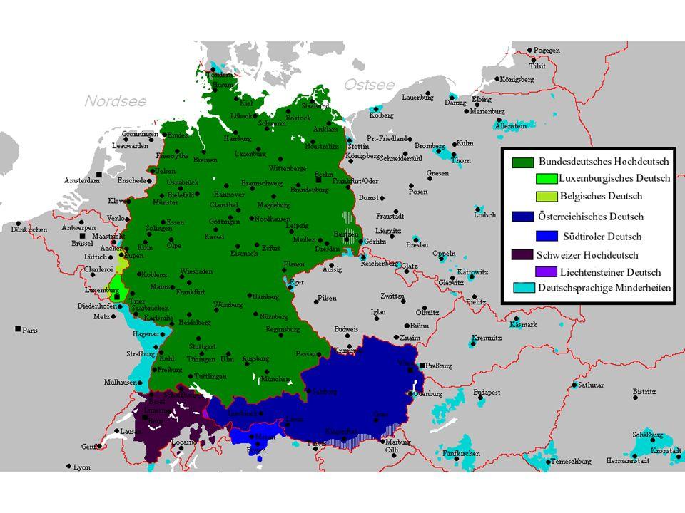 Staatssprache in Deutschland Österreich Schweiz Liechtenstein