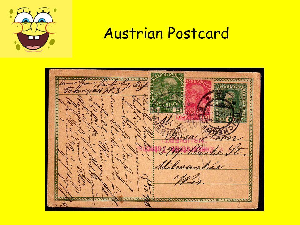 Austrian Postcard