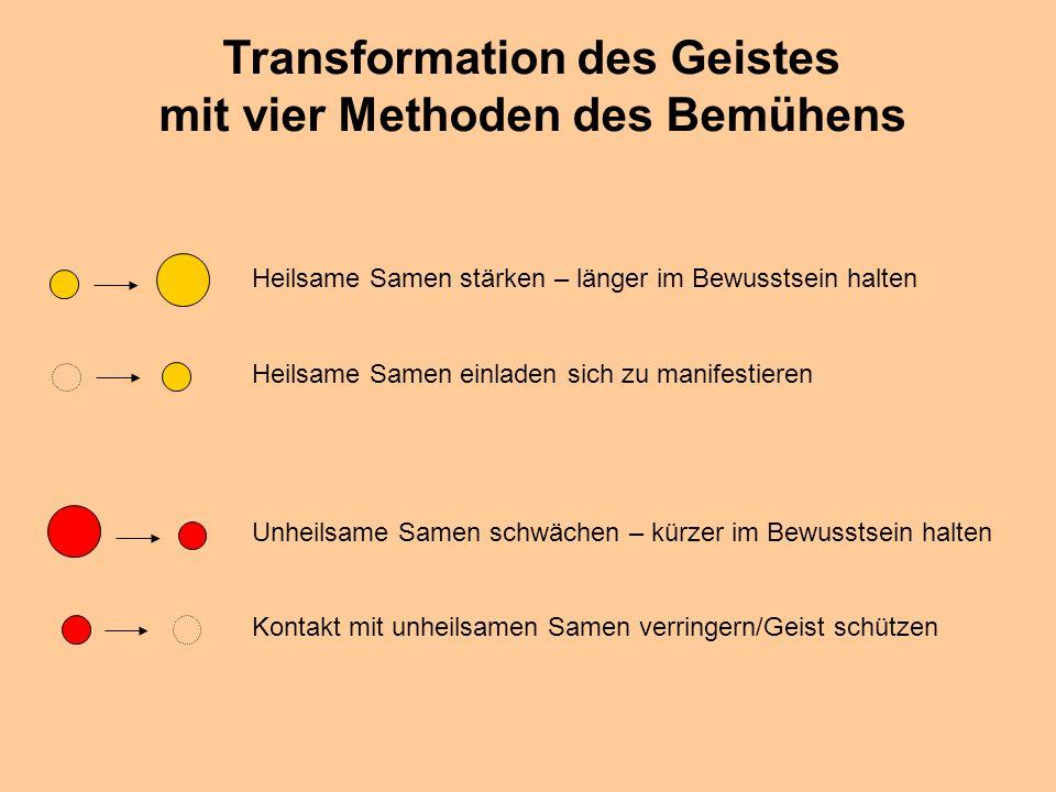 © Dr. Kai Romhardt www.romhardt.com www.achtsame-wirtschaft.de Transformation des Geistes mit vier Methoden des Bemühens Heilsame Samen stärken – läng