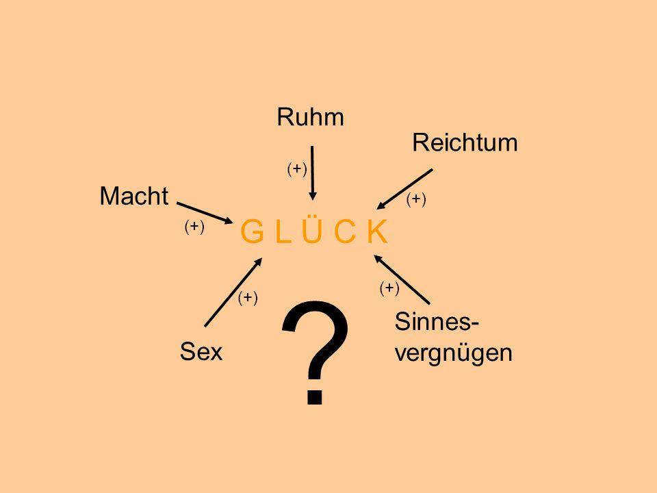 © Dr. Kai Romhardt www.romhardt.com www.achtsame-wirtschaft.de Ruhm Reichtum Macht Sex Sinnes- vergnügen G L Ü C K (+) ?