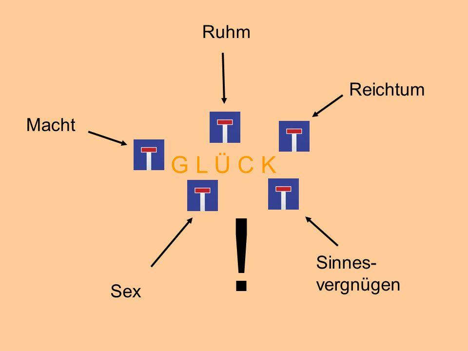 © Dr. Kai Romhardt www.romhardt.com www.achtsame-wirtschaft.de Ruhm Reichtum Macht Sex Sinnes- vergnügen G L Ü C K !