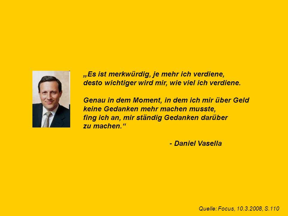 © Dr. Kai Romhardt www.romhardt.com www.achtsame-wirtschaft.de Es ist merkwürdig, je mehr ich verdiene, desto wichtiger wird mir, wie viel ich verdien