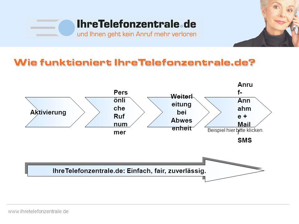 www.ihretelefonzentrale.de Hintergrund Service-Wüste Deutschland. Leider auch am Telefon (noch) (Hilfe zur) Entwicklung der Dienstleistungsgesellschaf