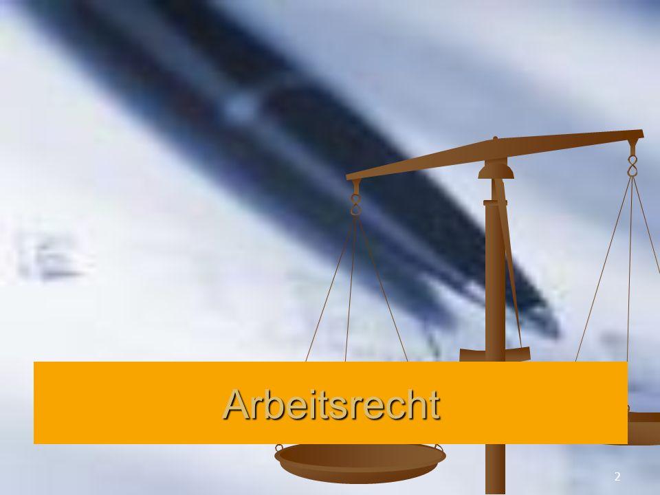23 Rechte und Pflichten aus dem Arbeitsverhältnis Grundsätze: Grundsätze: a.