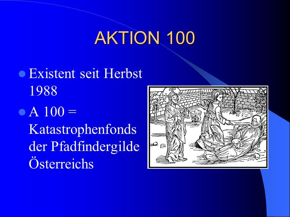 Hintergrund der Idee Ursprüngliche Idee: Jedes Gildemitglied in Österreich zahlt 100 ATS in den Fonds