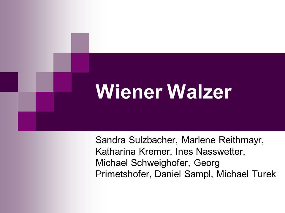 Wiener Walzer Sandra Sulzbacher, Marlene Reithmayr, Katharina Kremer, Ines Nasswetter, Michael Schweighofer, Georg Primetshofer, Daniel Sampl, Michael