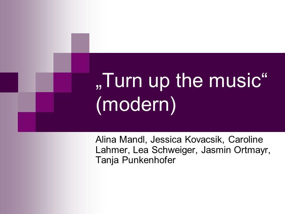 Turn up the music (modern) Alina Mandl, Jessica Kovacsik, Caroline Lahmer, Lea Schweiger, Jasmin Ortmayr, Tanja Punkenhofer