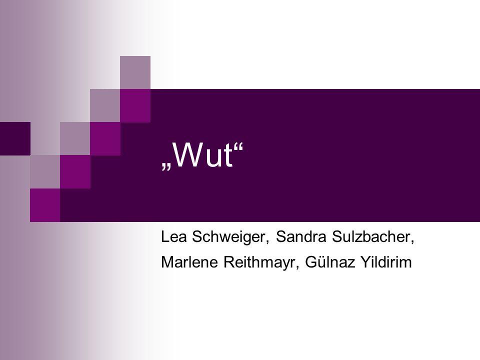 Wut Lea Schweiger, Sandra Sulzbacher, Marlene Reithmayr, Gülnaz Yildirim