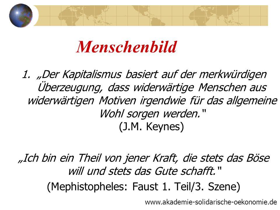 Grundlegende Wertorientierung Nachhaltigkeit 1.Ökologie 2.Humanität 3.Ökonomie www.akademie-solidarische-oekonomie.de