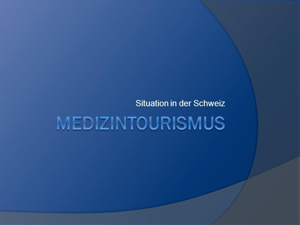 Situation in der Schweiz